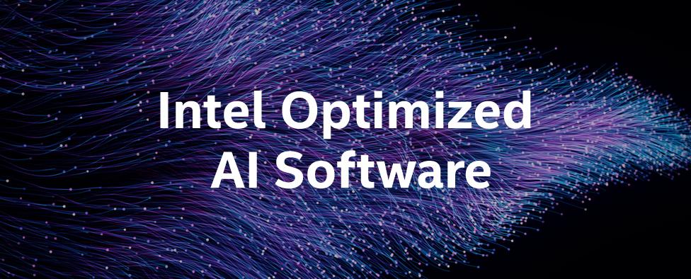 Intel AI Software Guide