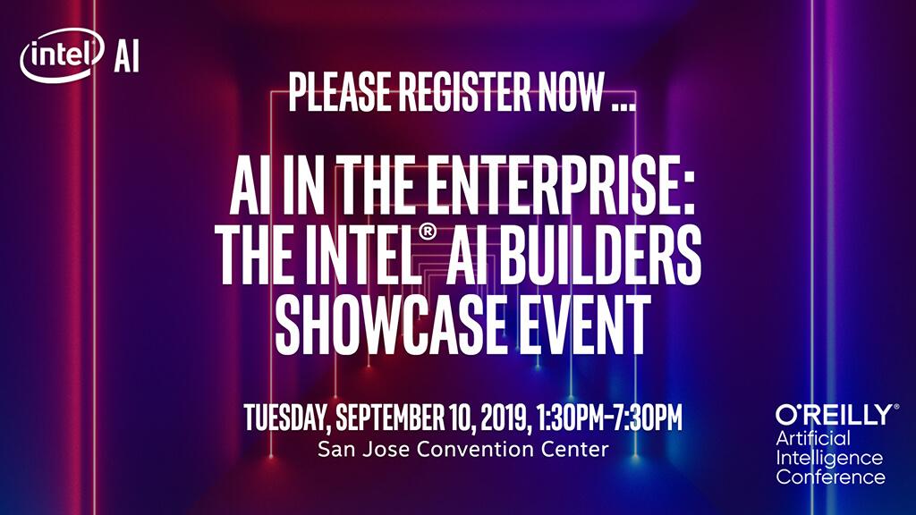 AI in the Enterprise: The Intel AI Builders Showcase in San Jose