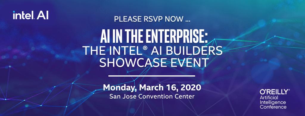 AI in the Enterprise: the Intel® AI Builders Showcase